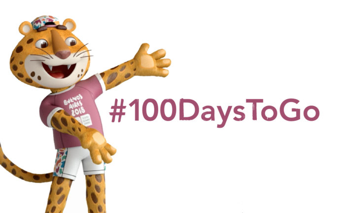 100 Days To Go - Youth Olympics 2018 at Buenos Aires 2018 Argentina