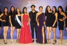 Darshana Banik, Mohammed Iqbal, Peden Ongmu Namgyal with the winners of Yamaha Fascino Miss Diva - Miss Universe India 2018 held at The Park, Kokata_1
