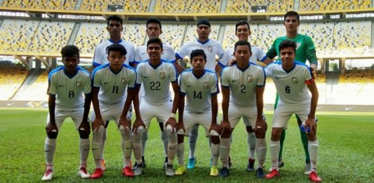 Indian U-16 Football Team