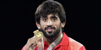 PM congratulates Bajrang Punia on winning Gold in 65 kg freestyle wrestling at Asian Games 2018