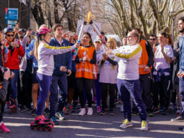 The Buenos Aires 2018 flame Traveling Argentina