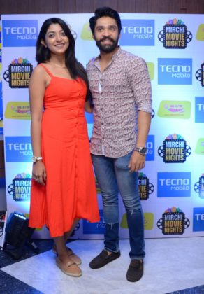 Devlina and Gaurab at Tecno Mobile presents Mirchi Movie Night