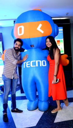 Gaurab and Devlina at Tecno Mobile presents Mirchi Movie Night