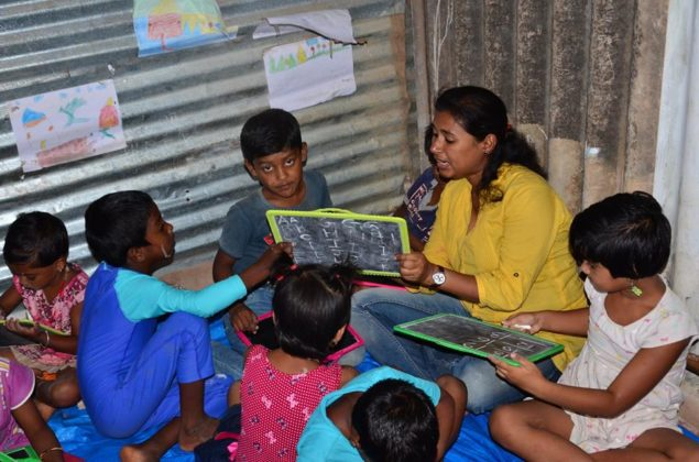 POTHER DAABI SCHOOL FOR POOR KIDS AT BANGALORE 3