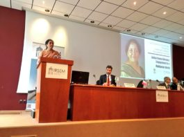 Sitharaman addressed 'India-France Defence Engagement in a Multipolar World' at the Institute of Strategic Research (IRSEM) in Paris