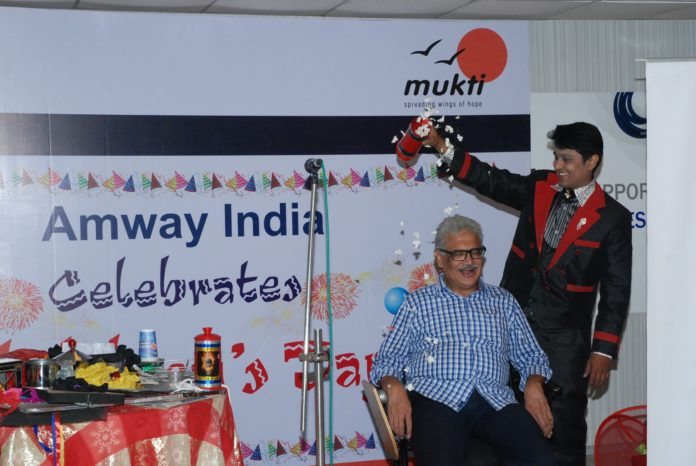 Amway India Celebrates Children's Day in Kolkata in partnership with Muk...