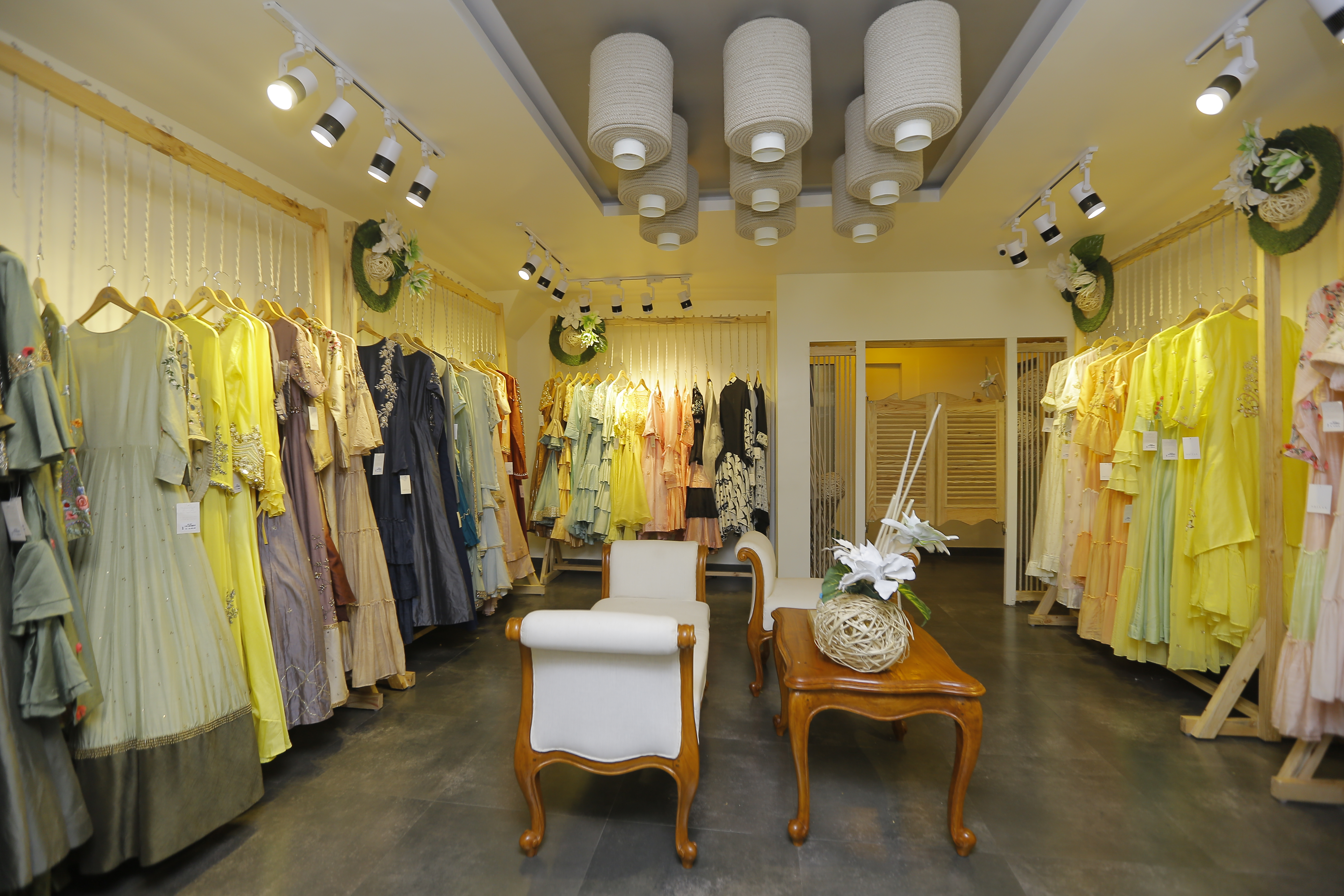 A glimpse of the store