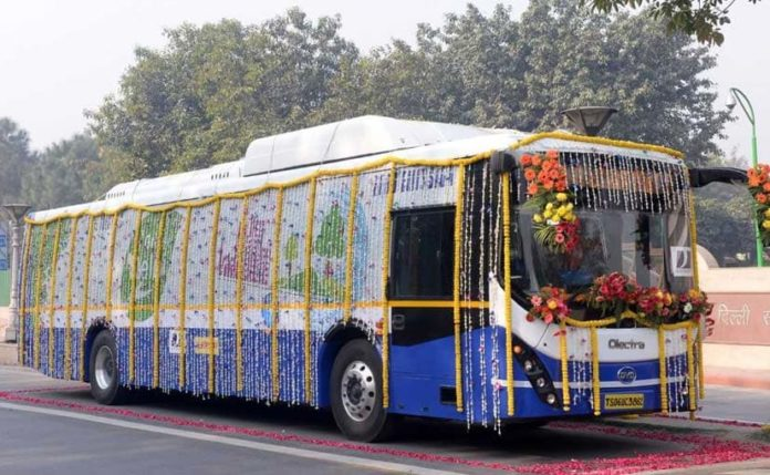 Olectra-BYD's 12 Meter electric bus – eBuzz K9