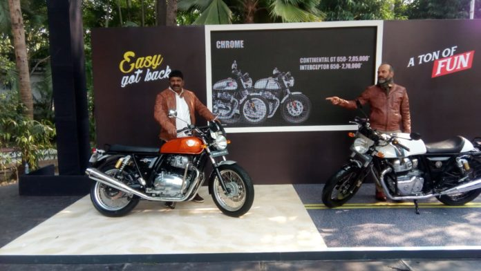 Royal Enfield launches the all new Interceptor INT 650 and Continental GT 650