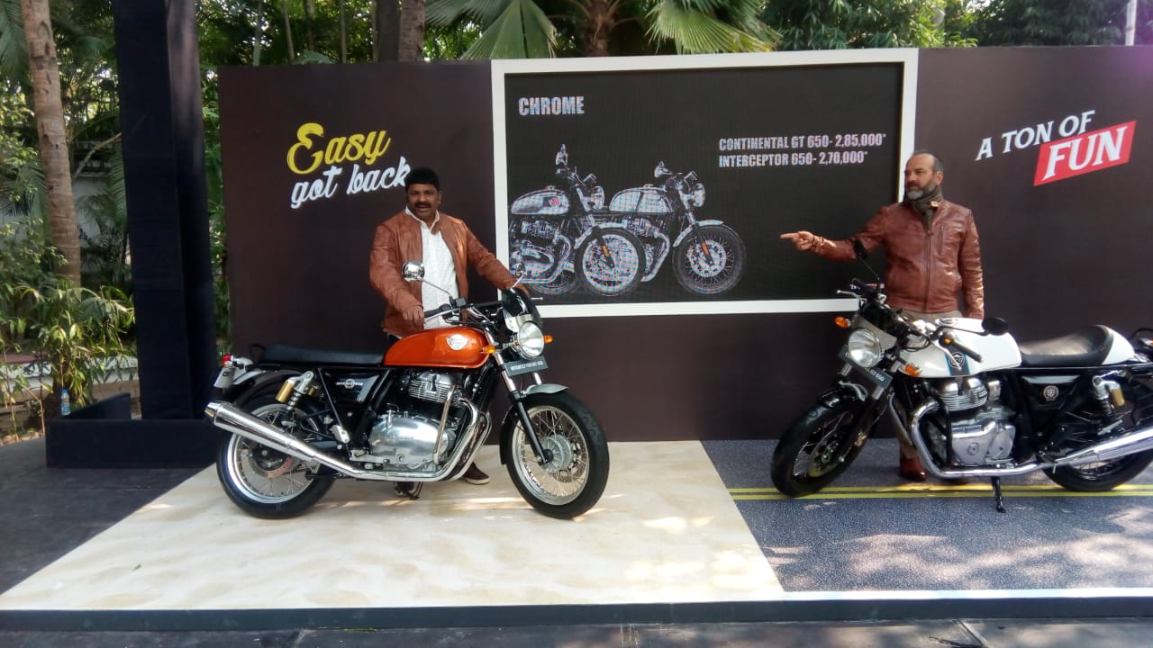 Royal Enfield Launches The All New Interceptor Int 650 And