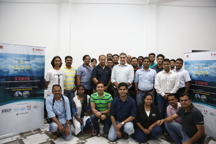 Canon Streaming Frames Cinematography Training Program in Andaman & Nicobar