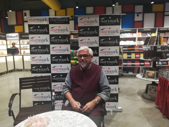 Amitav Ghosh's book signing session