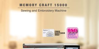 Usha Memory Craft 15000 with Digitizer MBX (2)