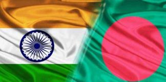 INDO Bangla Flags