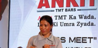 Mary Kom at Ankit TMT Bar