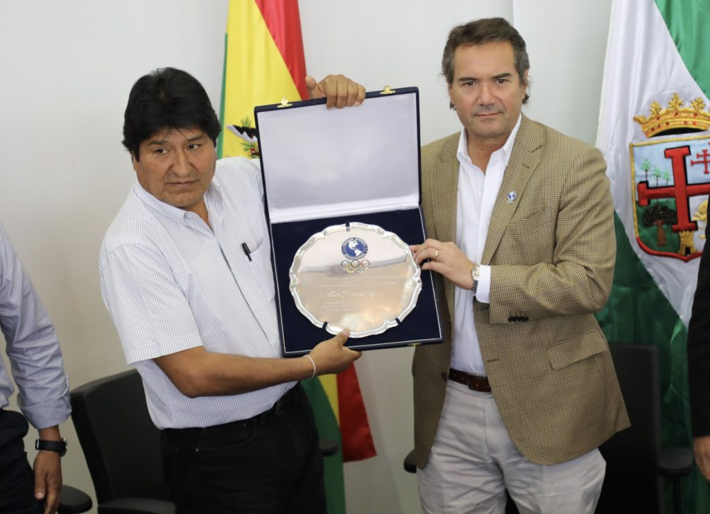 Bolivia Claims for PANAM Sports