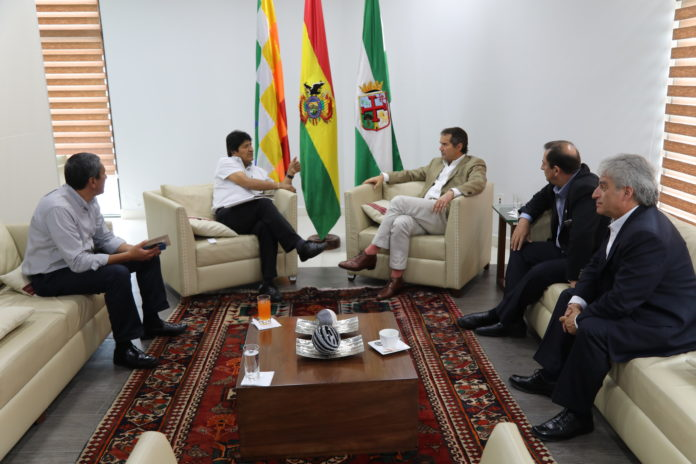 Bolivia Claims for PANAM Sports 2