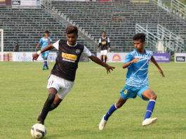 2nd Goal Scorer Mainak Dey In Action Against Purbo Medinipur Fighters.