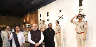 The Union Home Minister, Shri Amit Shah visiting the National Police Museum, in New Delhi on June 02, 2019.