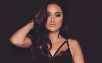 REBECCA MCALLISTER SHOWS US A FINE EXAMPLE OF BEAUTY AND BRAINS