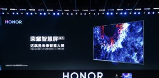 Mr. George Zhao, President of HONOR, at the HONOR Vision China Launch