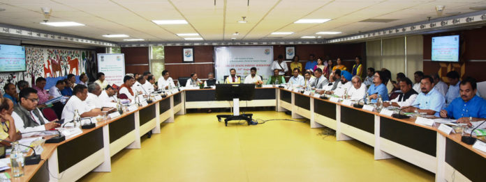 The Union Minister for Environment, Forest & Climate Change and Information & Broadcasting, Shri Prakash Javadekar chairing the Meeting of the State Forest Ministers, in New Delhi on August 29, 2019. The Minister of State for Environment, Forest and Climate Change, Shri Babul Supriyo, the Secretary, Ministry of Environment, Forest and Climate Change, Shri C.K. Mishra and other dignitaries are also seen.