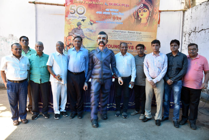 Young Boys Club Celebrates Golden Jubilee with the Theme Balakot Air Surgical Strike_1