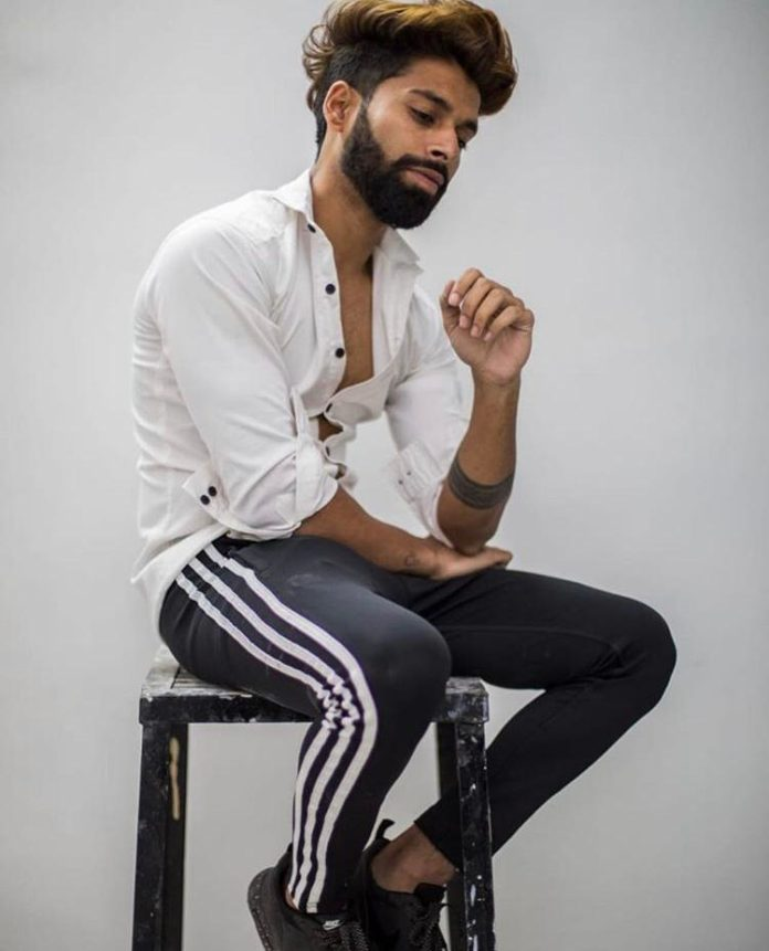 RAHUL aka RUHU RANDHAWA---- Upcoming sensational model.
