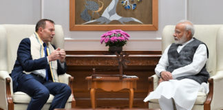 PM's Meeting with Mr. Tony Abbott, Former Prime Minister of Australia
