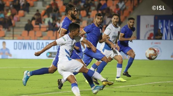 Odisha FC bounced back from two consecutive defeats in style as they hammered Mumbai City FC 4-2 to pick up their first win of the Hero Indian Super League 2019-20 at the Mumbai Football Arena here on Thursday