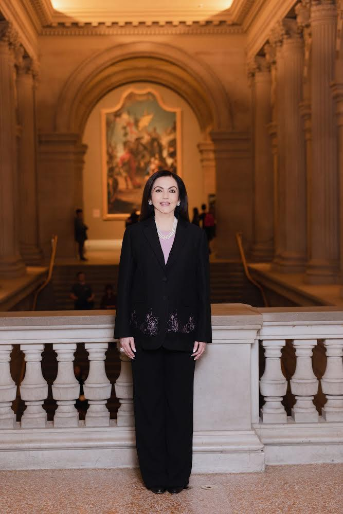 Nita Ambani Elected to the Board of The Metropolitan Museum of Art (New York) – the First Indian Trustee in the Museum's 150 Year history