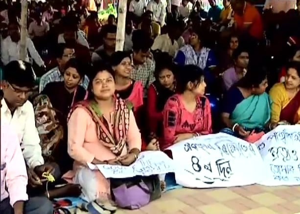 Teacher on Protest in West Bengal
