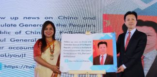 The Consulate General of the People's Republic of China in Kolkata meets media from City of Joy