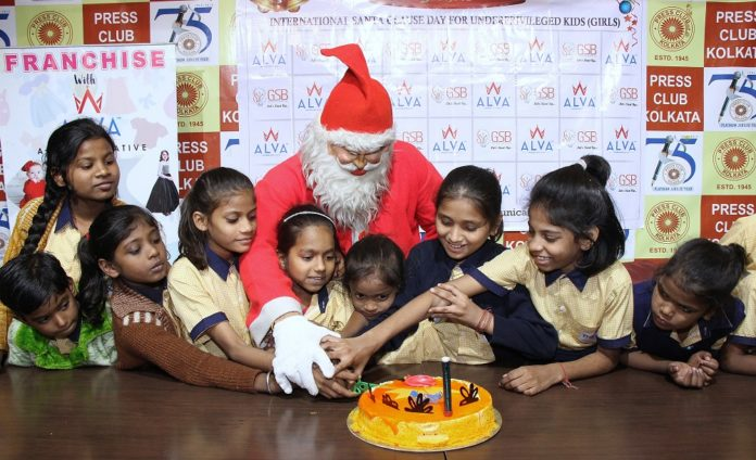 Christmas Drawing Competition to recognize talent of underprivileged kids..
