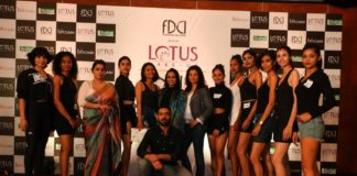 Shortlisted models with jury panel