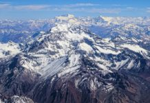 Mount Aconcagua in South America