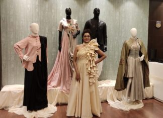 Cine Actess Moubani Sorcar graced the grand opening of the boutique by Nisha M loyalka