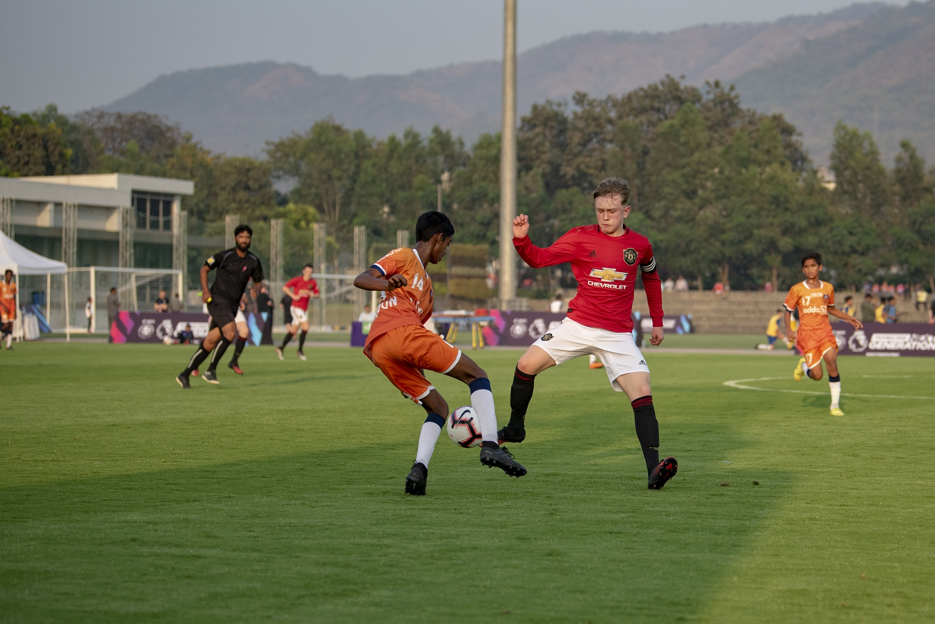 Manchester United FC teenagers humble Goa boys