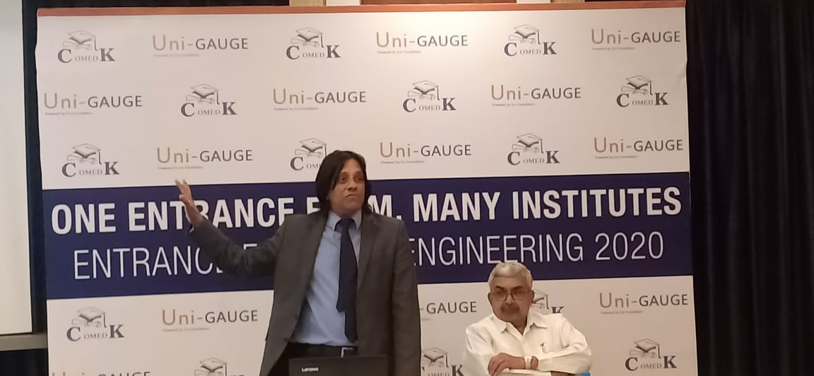 COMED K and Uni-GAUGE Exam-2020will be held in 400 centersfor 100,000 students across India
