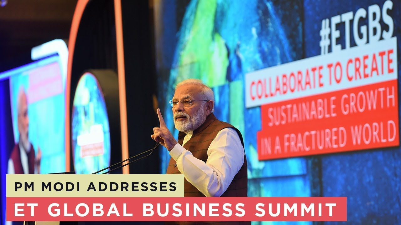 PM addresses Economic Times Global Business Summit There is no harm in saying the right thing: PM