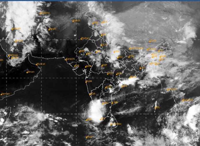 Depression over Andaman & Nicobar Island 30th April 2020 Forcast