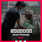 KFC India to provide 1 Million Meals to Feed Communities in Need