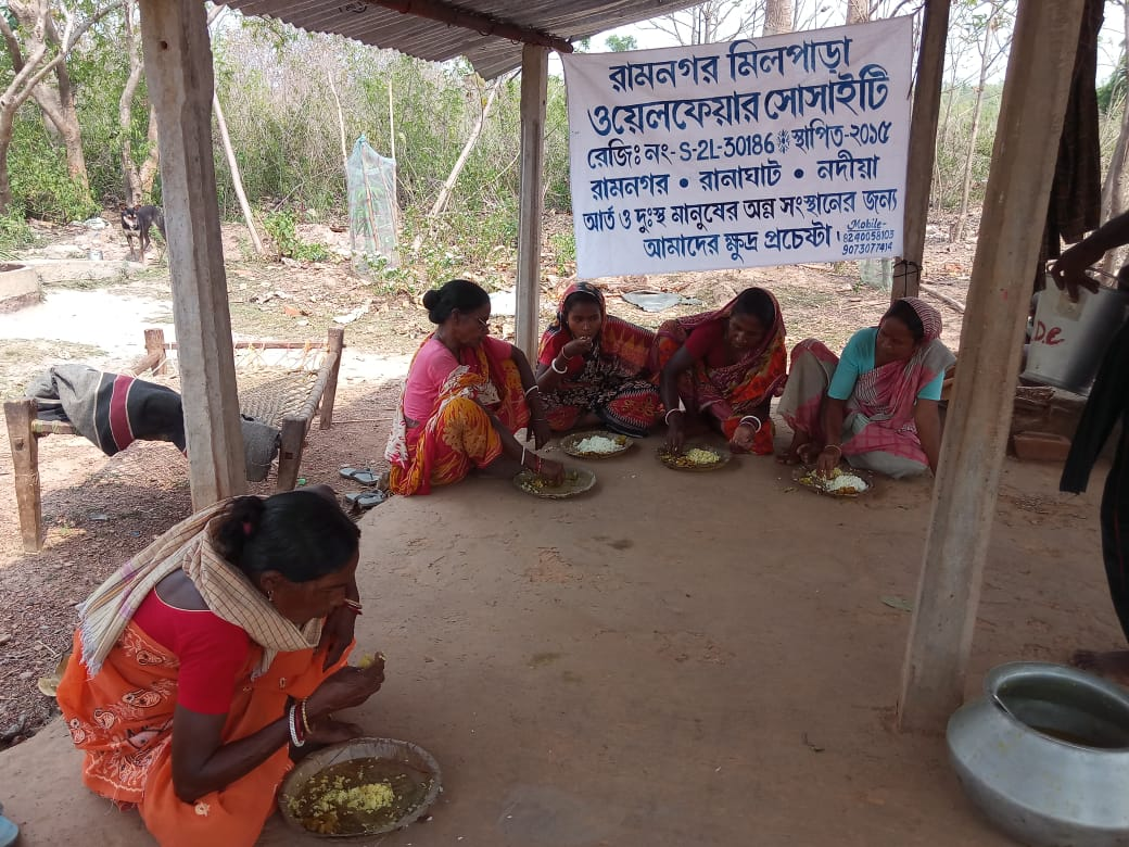 Ramnagar Milpahari Welfare Society is the light of hope for people in this Pandemic