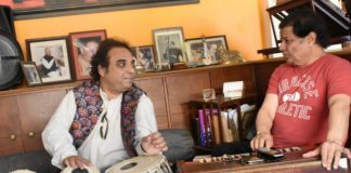 Bhajan Samrat Anup Jalota and GIMA winning Percussionist Pt Prodyut Mukherjee came together for an album