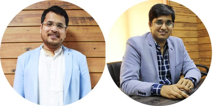 Mr. Anish Agarwal: Co founder, CEO, and Mr. Anant Jain- Co-founder, CTO,Sabse Sasta Dukaan