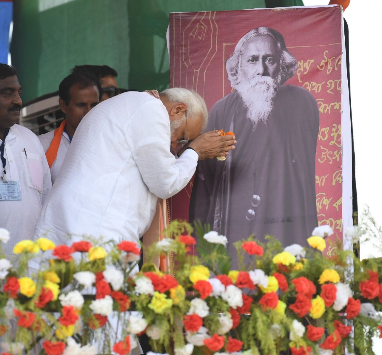 PM pays tributes to Gurudev Rabindranath Tagore