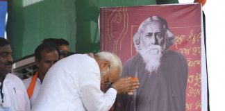 Tribute to Rabindranath Tagore by PM Modi