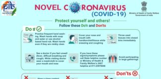 Novel CaronaVirus Dos and Donts