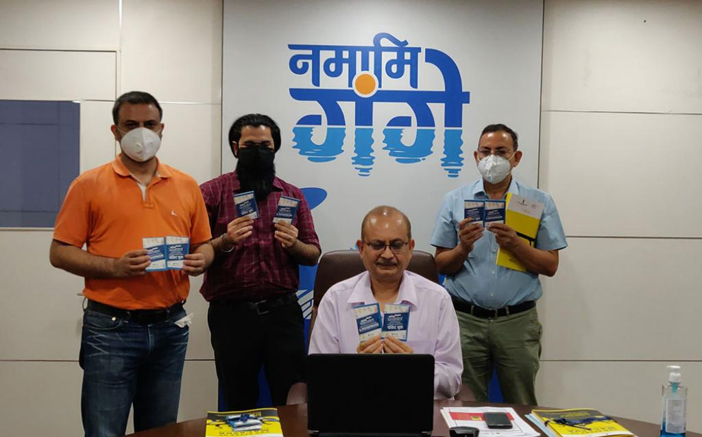 PocketBook for Health and Safety of Sanitation Workers during COVID-19 released in Uttar Pradesh - MalAsur 'Demon of Defeca' Campaign launched
