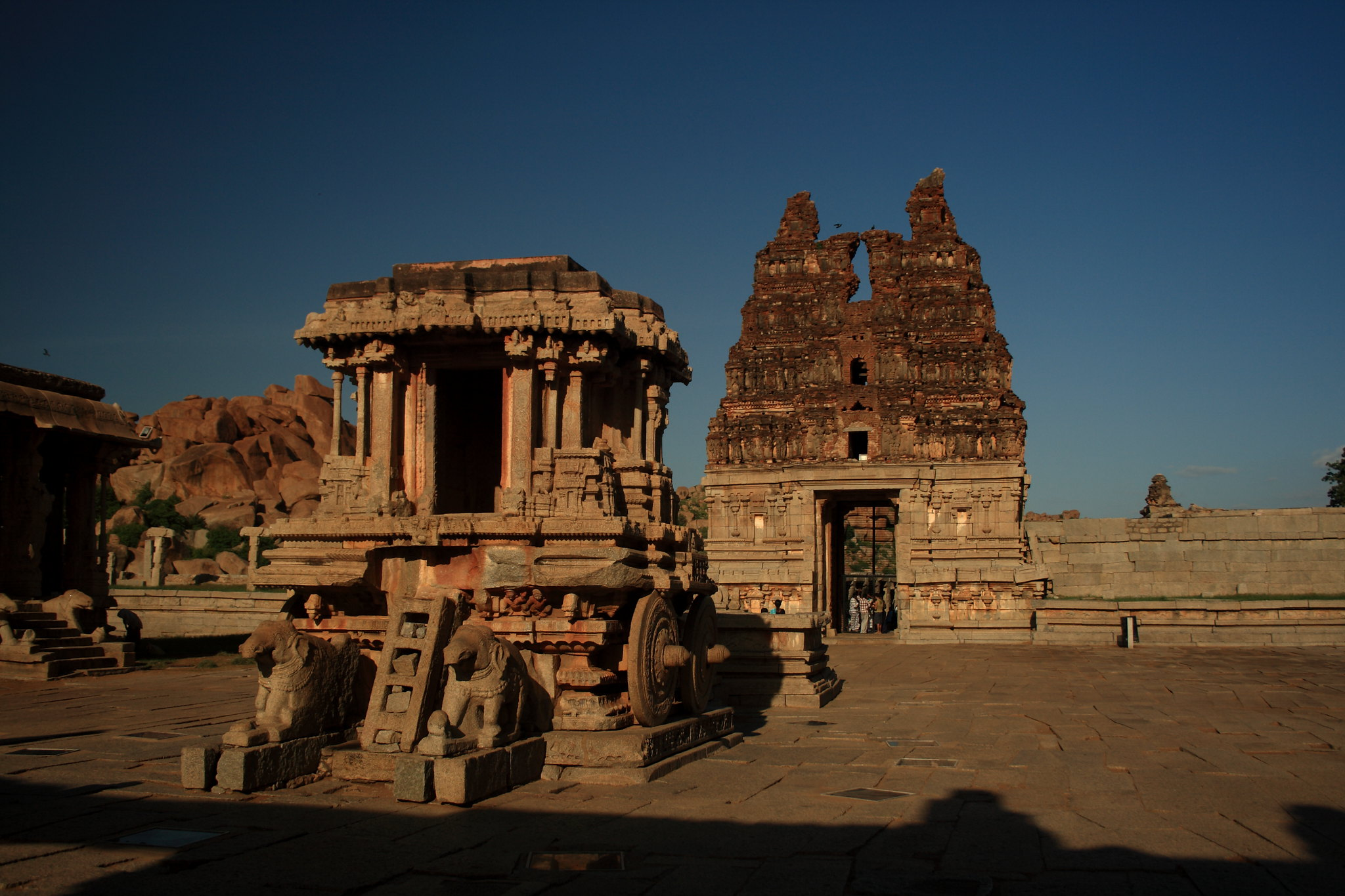 The Stone Chariot of Hampi By Suman Munshi